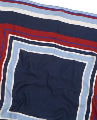 Gardiners Bay Stripe Silk Scarf