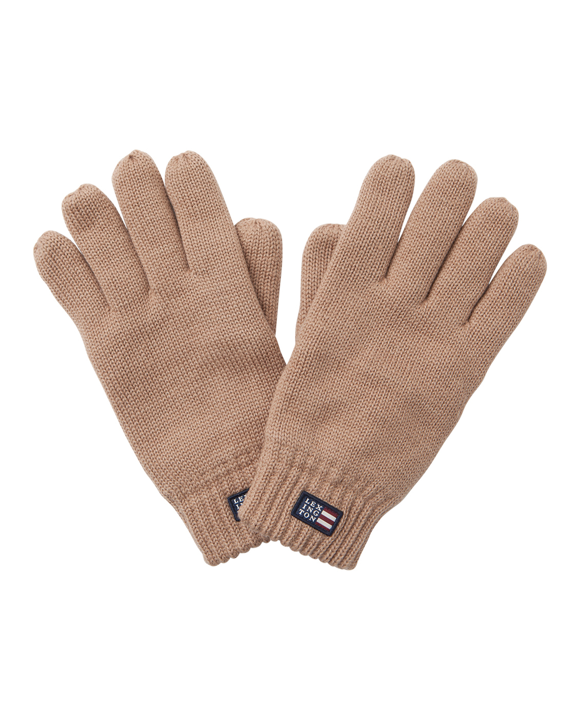 Connecticut Unisex Knitted Gloves, Warm Sand