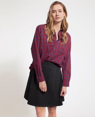 Isa Flannel Shirt, Multi Check