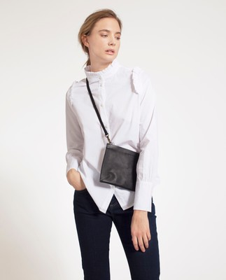 Marianne Ruffle Shirt