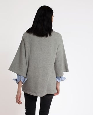 Rae Sweatshirt, Heather Gray