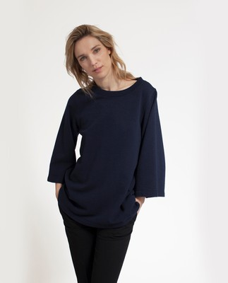 Rae Sweatshirt, Navy Blue