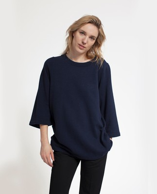 Rae Sweatshirt, Navy Blue