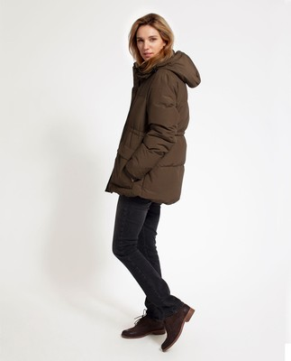 Emma Down Jacket, Hunter Green