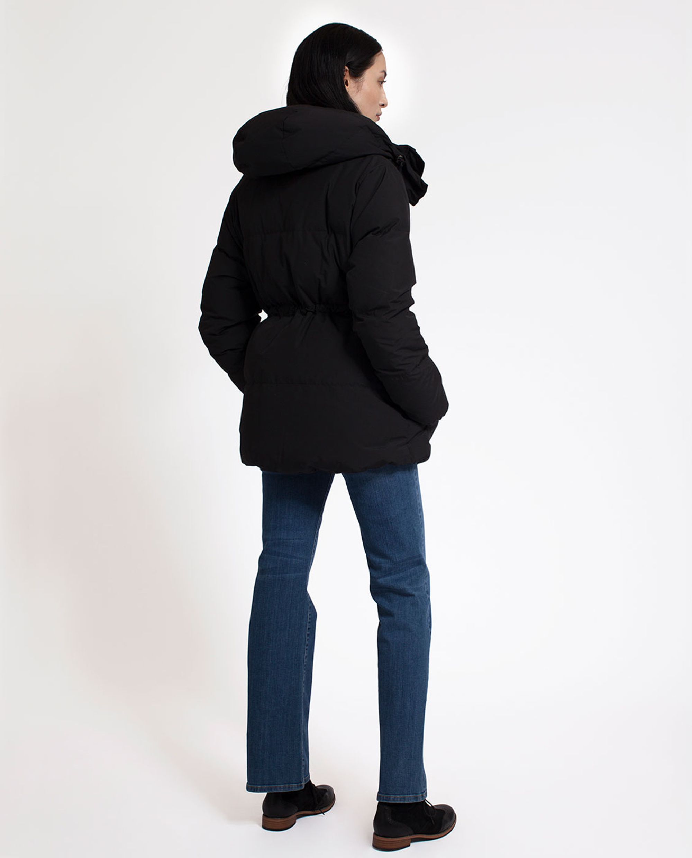 Emma Down Jacket, Caviar Black