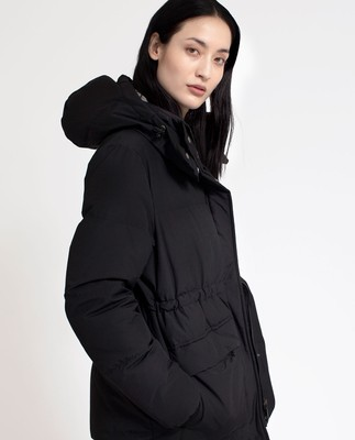 Emma Down Jacket, Caviar Black