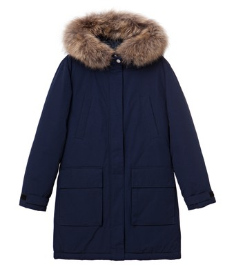 Pauline Down Coat, Deepest Blue