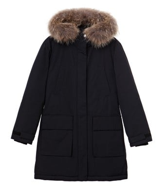 Pauline Down Coat, Caviar Black