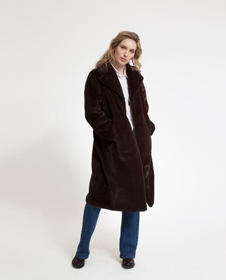Brooke Faux Fur Coat