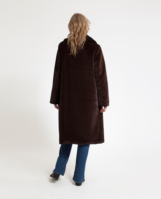 Brooke Faux Fur Coat