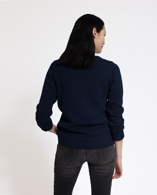Lova Sweater, Deepest Blue