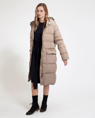 Alma Down Coat, Dune