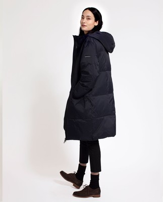 Nora Down Parka, Deep Marine Blue