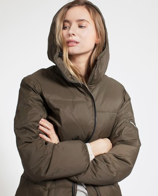 Nora Down Parka, Hunter Green