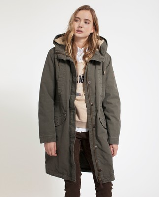 Vera Cotton Parka, Hunter Green