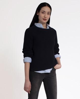 Harlow Sweater, Deep Marine Blue