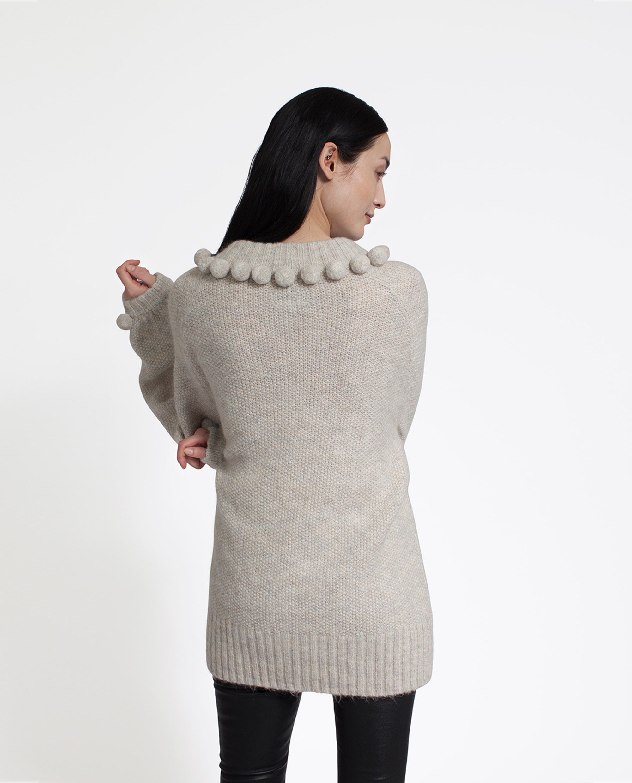 Anabelle Pom Pom Sweater
