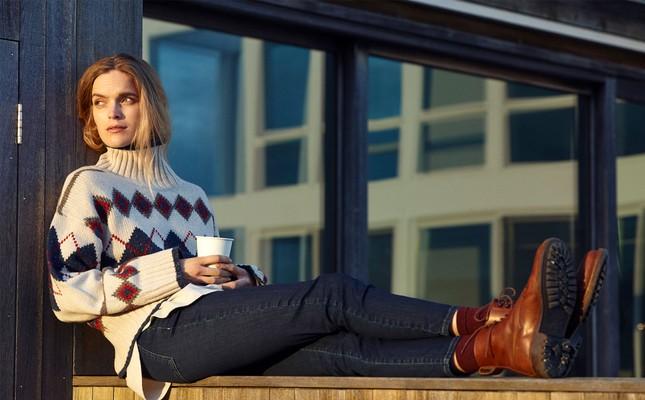 Wren Argyle Sweater