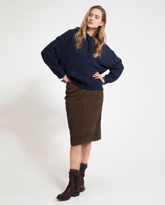 Lexi Suede Pencil Skirt