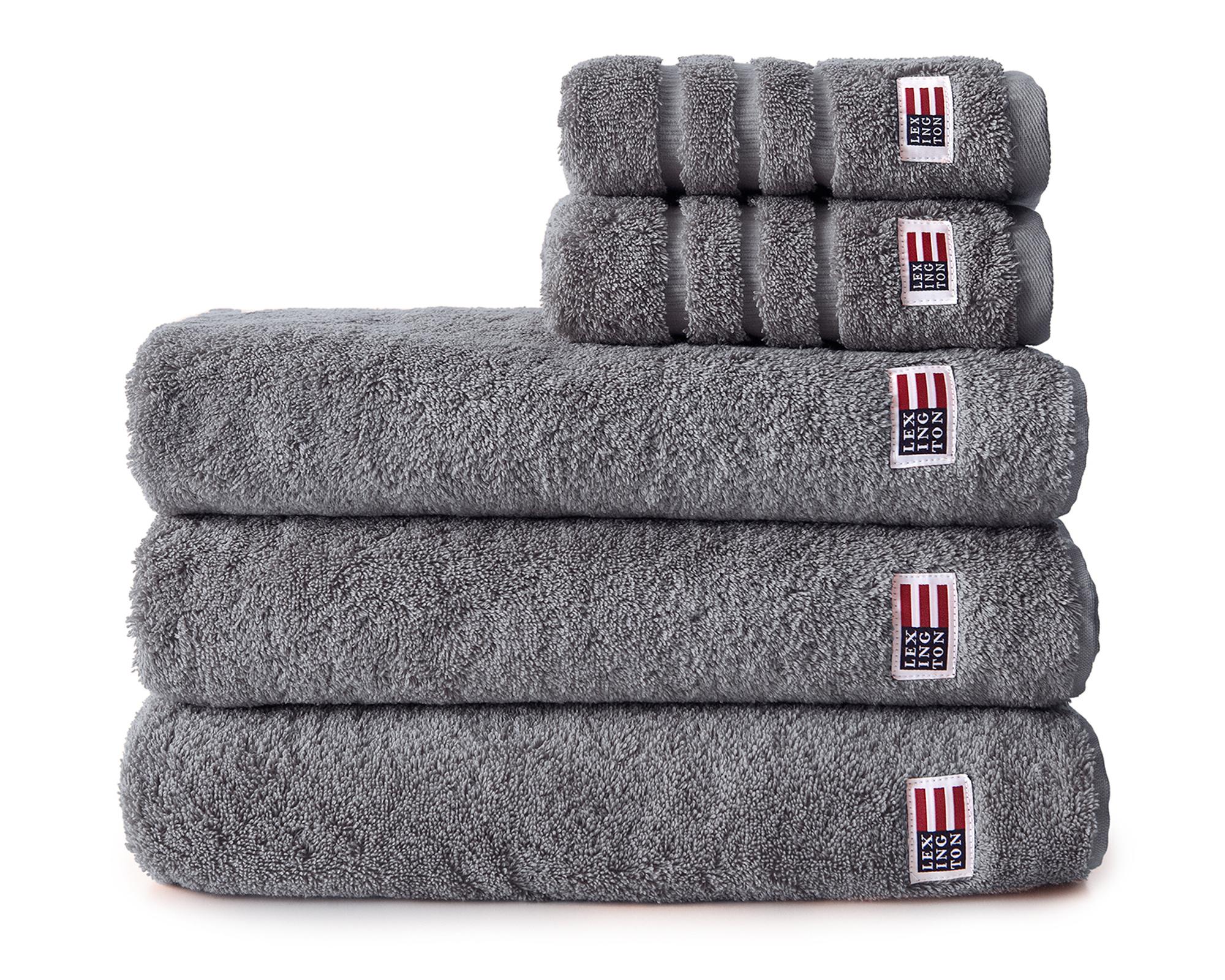 Original Bath Towel Stone Gray