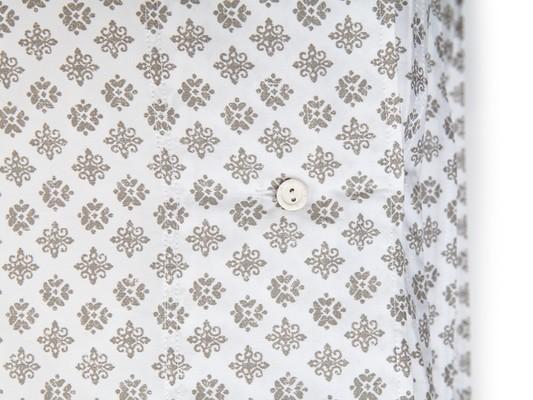 Beige Printed Sateen Duvet