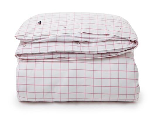 Pin Point Shaker Check Pink Flat Sheet