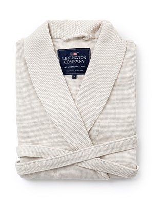 Patty Waffle Robe, Light Gray