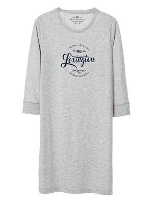 Suni Nightgown, Light Gray
