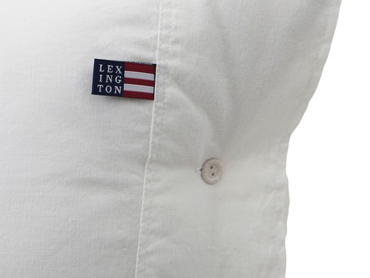 Washed Cotton Linen White Pillowcase