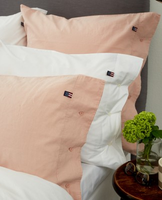 Washed Cotton Linen White Pillowcase