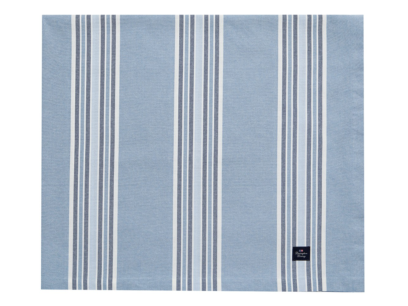 Striped Tablecloth, Blue ...