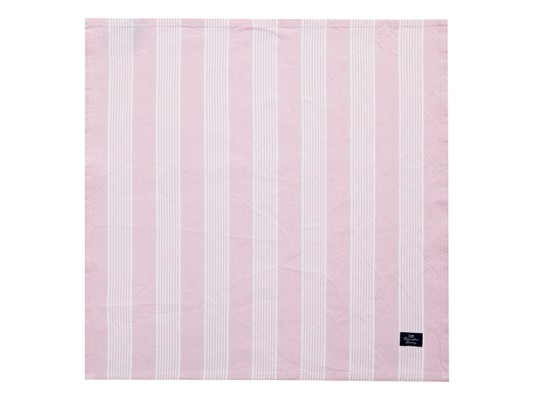 Striped Napkin, Pink/White