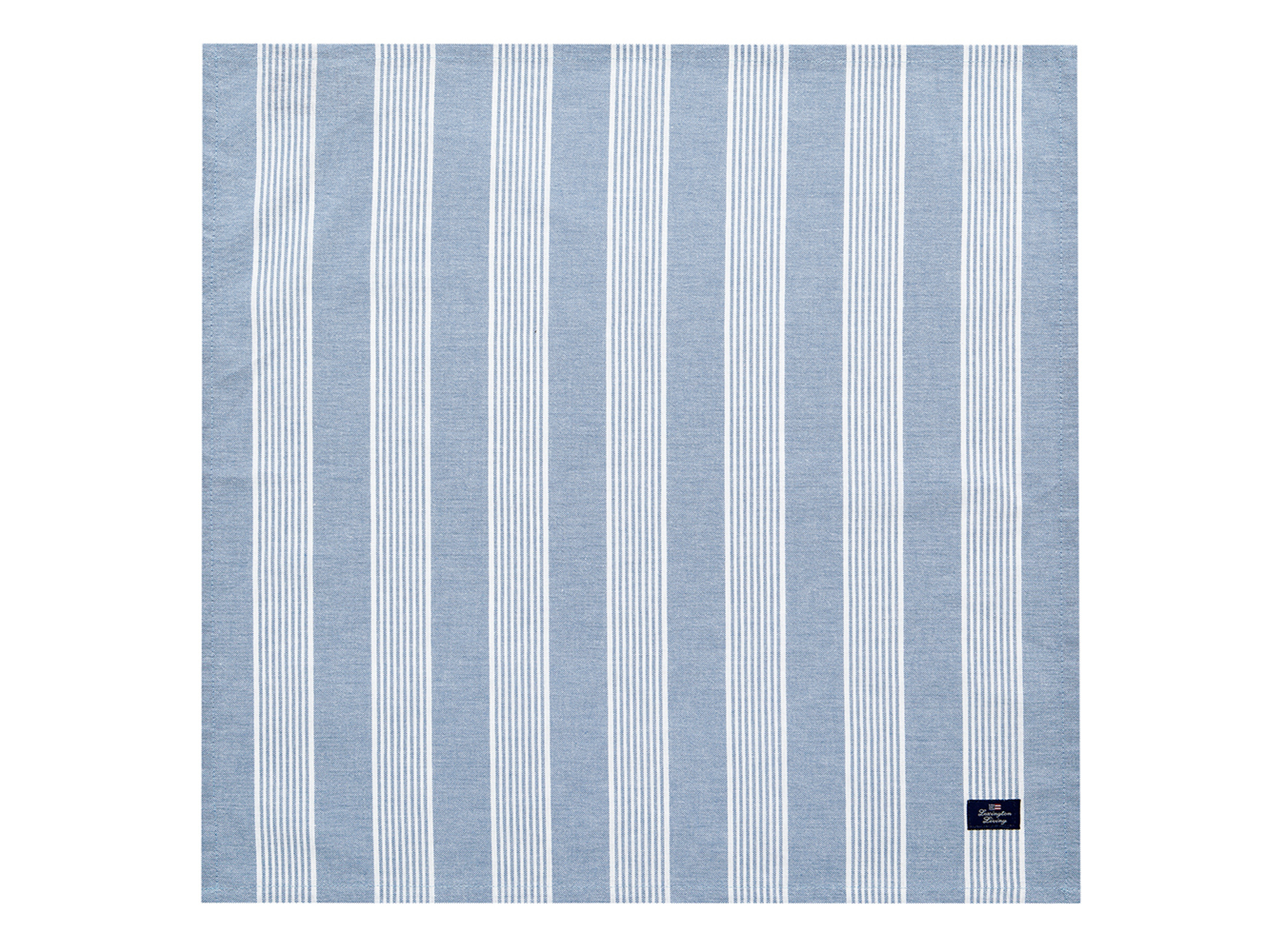 Striped Napkin, Blue/White