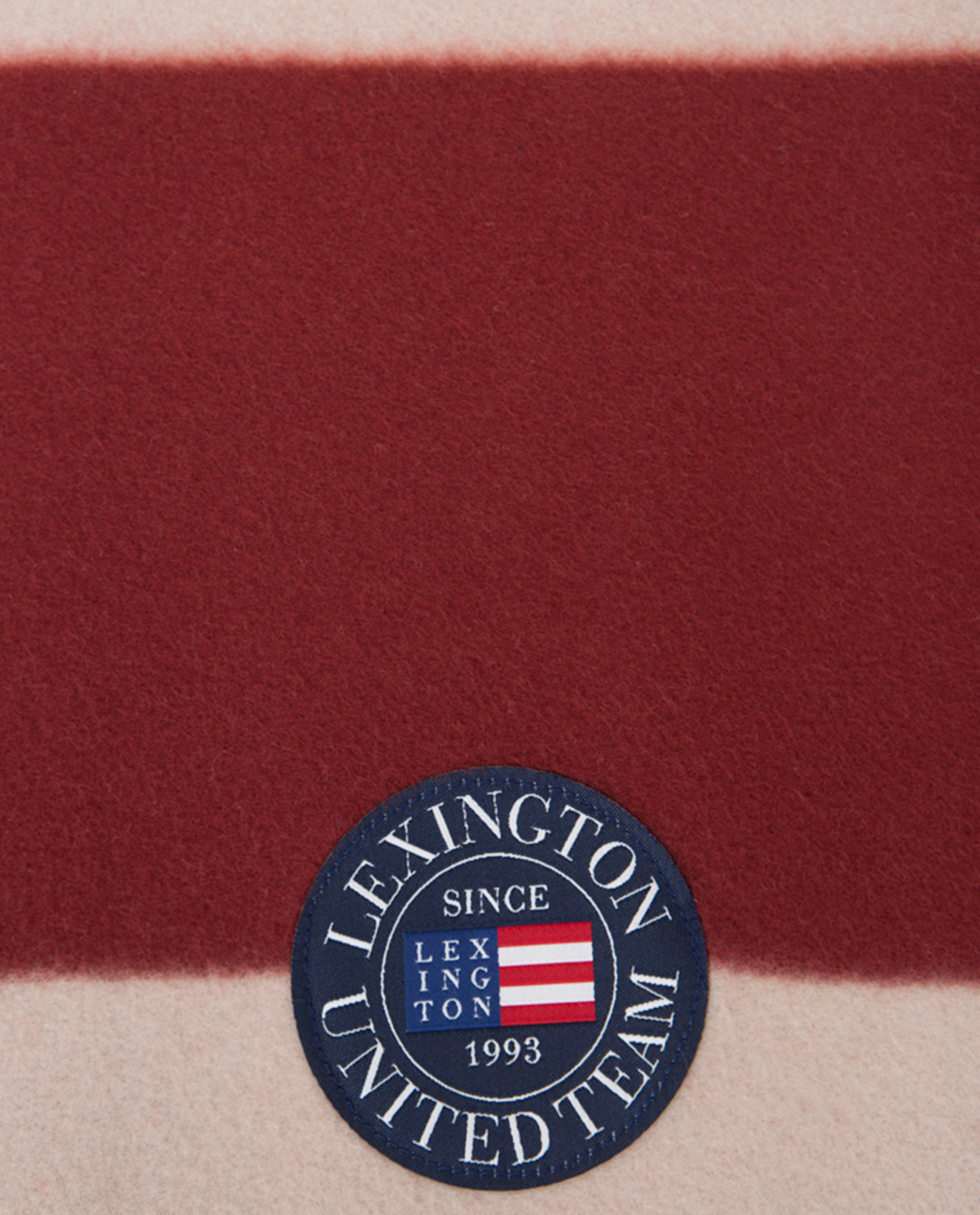 Holiday Fleece Throw, Red/White