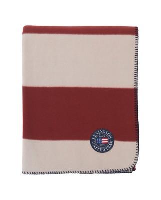 Holiday Fleece Throw, Red/White