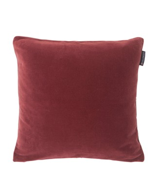 Cotton Velvet Sham, Red