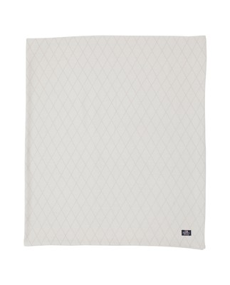 Jacquard Tablecloth, White
