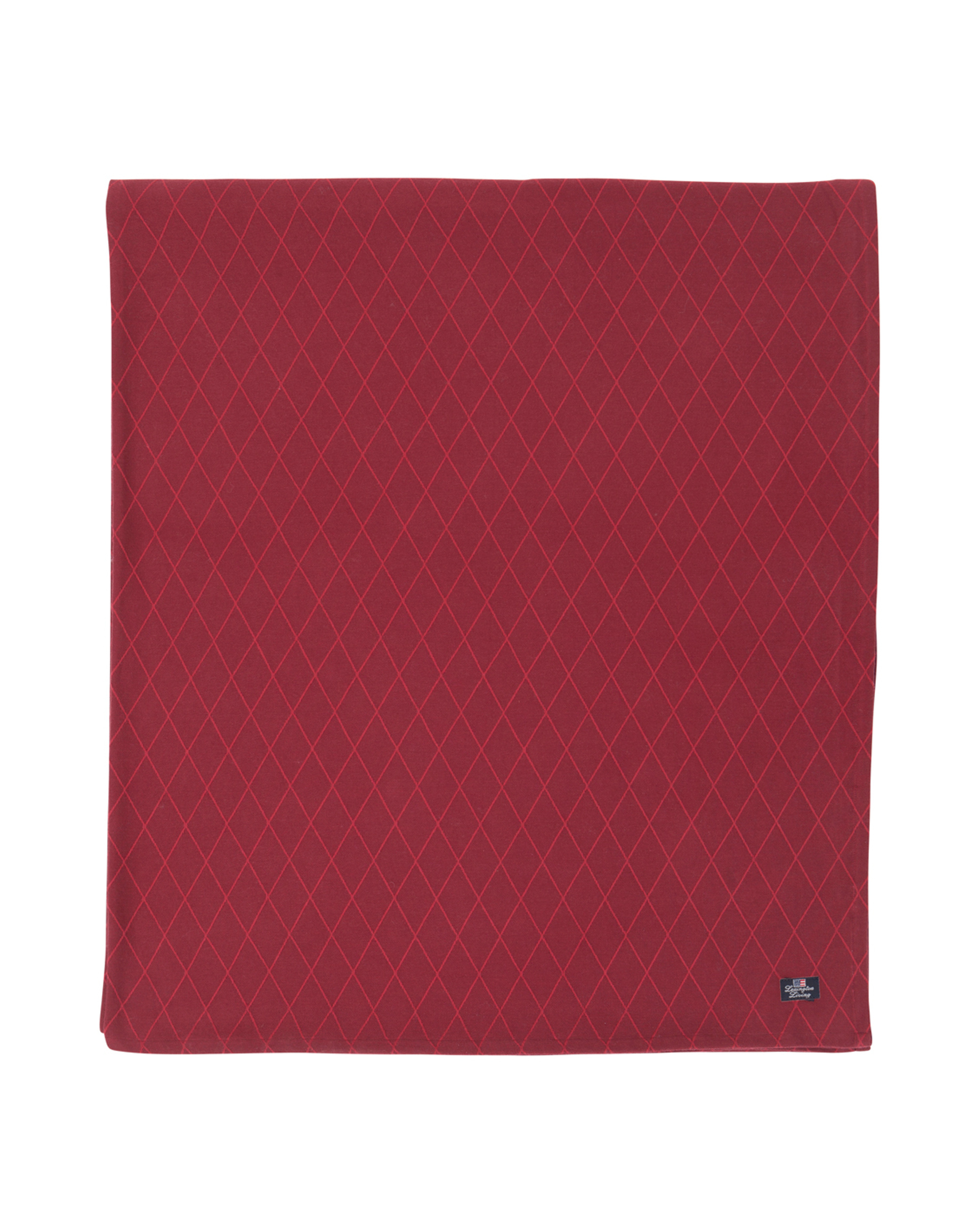 Jacquard Tablecloth, Red