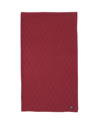 Jacquard Runner, Red