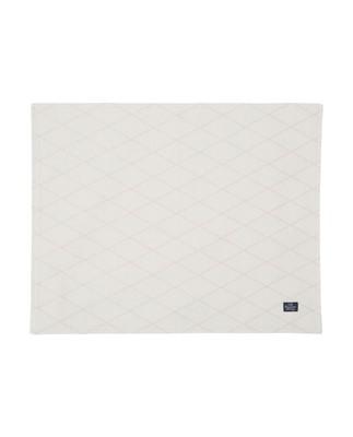 Jacquard Placemat, White