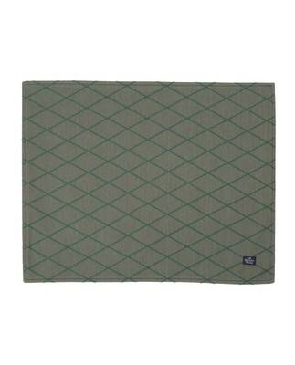 Jacquard Placemat, Green