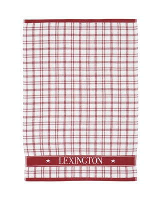 Holiday Terry Kitchen Towel, White/Red