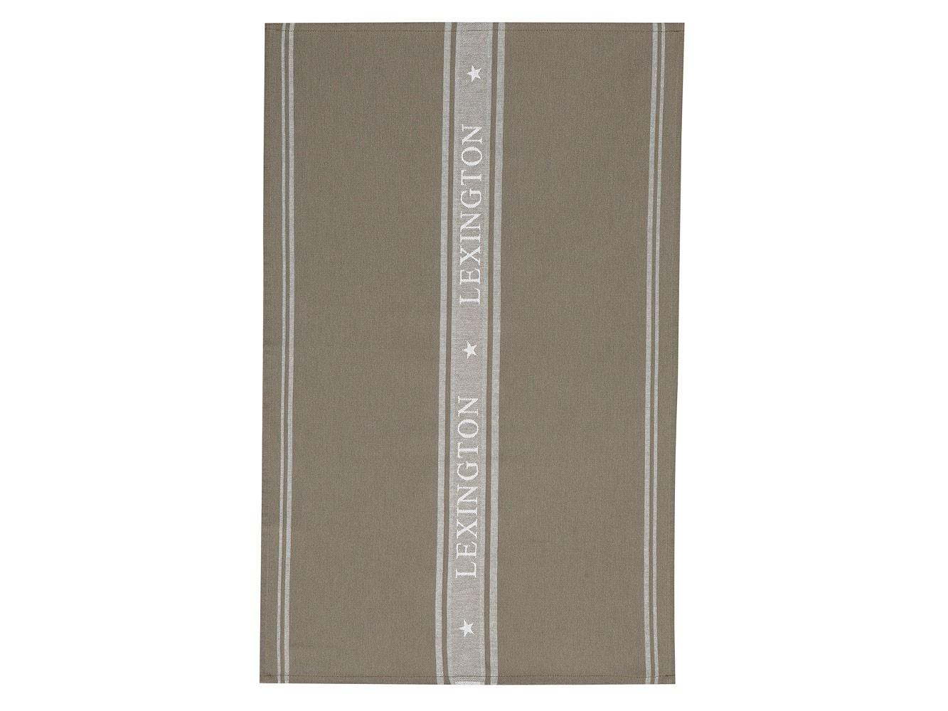 Star Kitchen Towel, Green/White ...