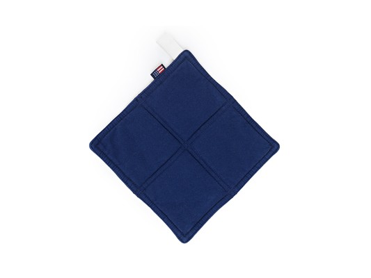Canvas Potholder, Blue