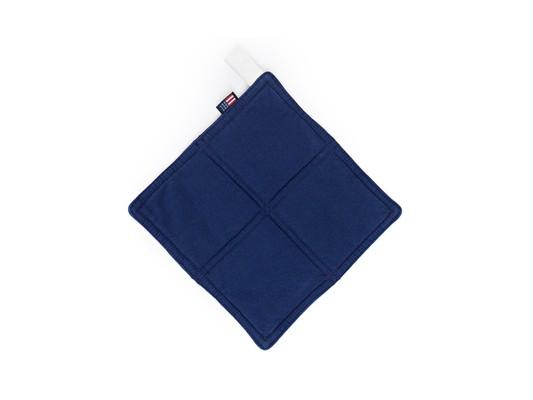 Canvas Potholder, Blue