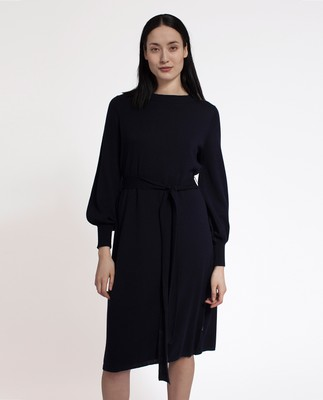 Jen Knit Dress, Deep Marine Blue