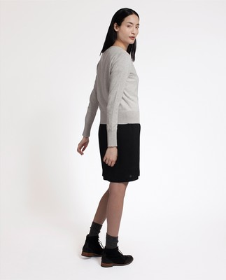 Daniella Cardigan, Light Warm Gray