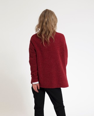 Talula Sweater, Rosewood Red