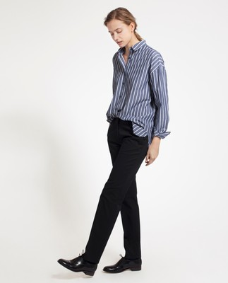 Blake Narrow Leg Pants, Caviar Black