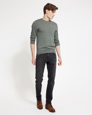 Jeff Crewneck Sweater, Balsam Green